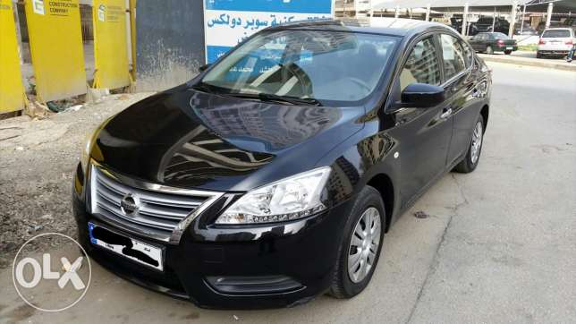 Nissan Sentra 2013 F.O.black excellent condition