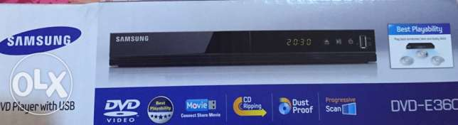 Brand new Samsung DVD player