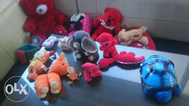 Teddies all of them