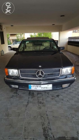 Mercedes 560 sec, coupe, model 1990 for sale