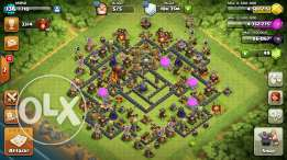 Clash of clans th10 MAX heroes 20