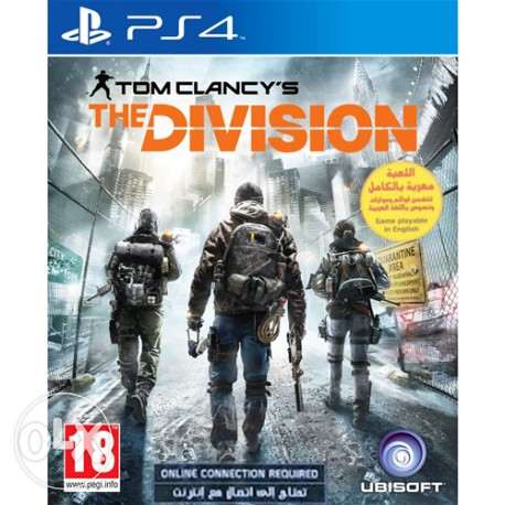 ps4 game the division fore sale or trade