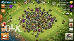 clash of clans account lvl 104
