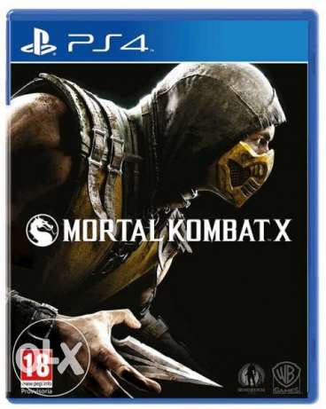 PS4 game for sale or trade - MORTAL KOMBAT X