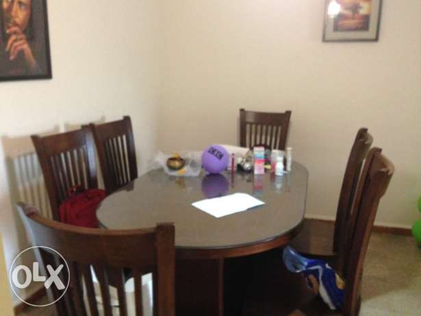 AUTHENTIC oak wood dinner table 700$!!