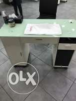manicure table x4
