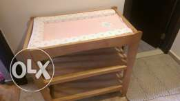 Changing table - mothercare