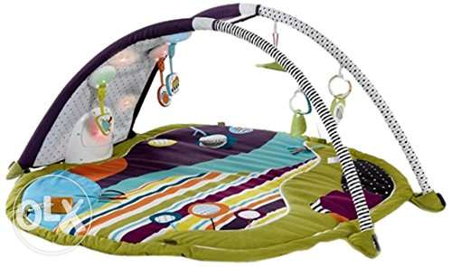 Mamas & Papas Baby Stargaze Stripe Playmat & Gym