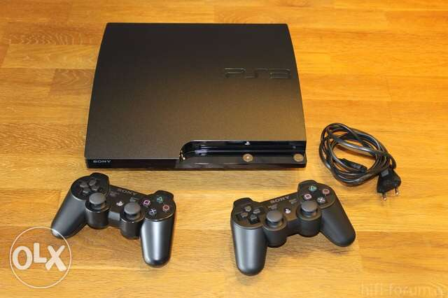 ps3 with 3 cd