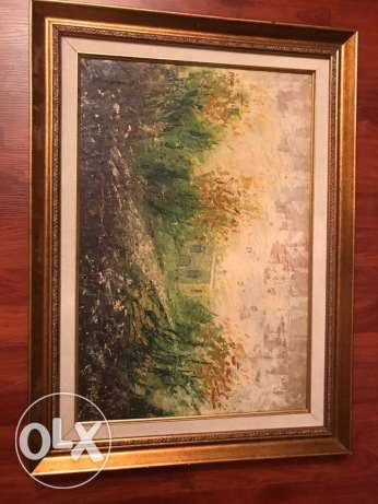 Painting signed by A.Helayel for a very good price