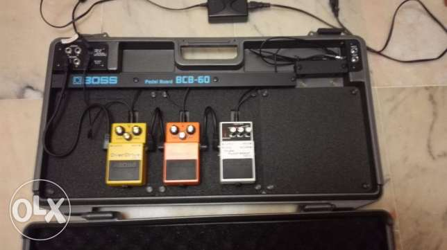 BOSS Guitar Pedals and Pedal Board الروشة -  6