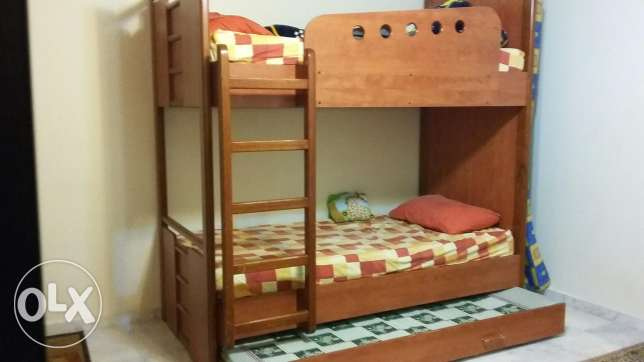Very good condition with firm wood Bedroom
