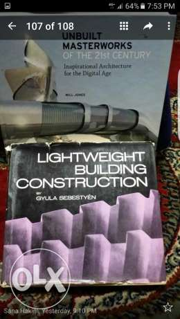 Valuable architectural books for sale
