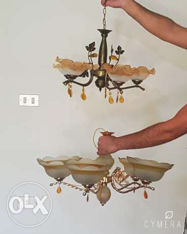 2 big lamps only 50,000