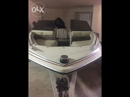 Fourstroke 60 hp 2013 4.5m brand new engine only 12h of use