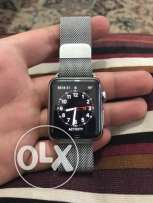 apple watch 38 mm steel with special band