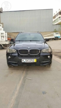 Bmw x5 3.0i model 2008 clean carfax full option expo safra