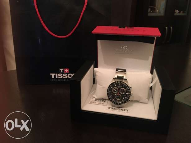 Big black TISSOT swiss made brand new وسط المدينة -  3