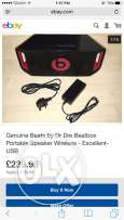 bleutooth speaker beatbox beats by dr dre