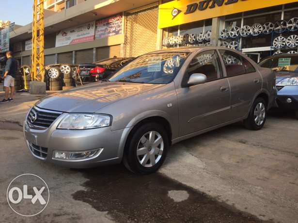 nissan sunny , model 2009 , price : 7500 $