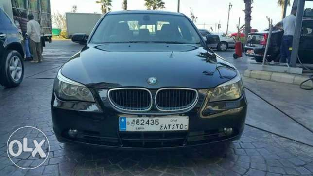 BMW serie 5 model 2006 / 523 Lebanese origin one owner no accidents راس  بيروت -  1