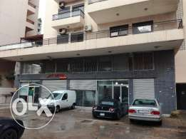jisr el basha , shop 80m for rent