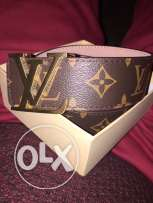monogram louis vuitton belt