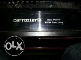 Amplifier pioneer for car 120watt the original in excellent condition