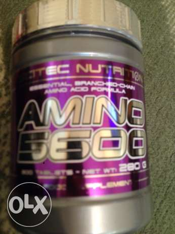 BCAA Branded chain amino acids