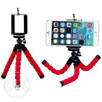 Flexible tripod with phone/camera holder (AVAILABLE AGAIN)