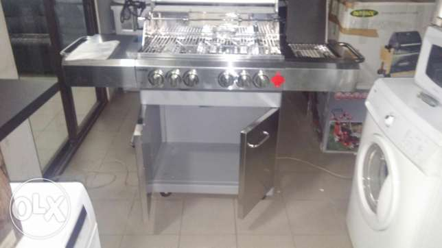 Barbecue stainless steel