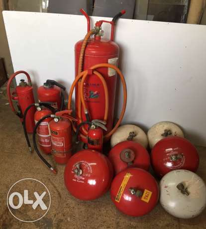 Italian Fire extinguisher