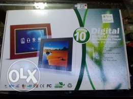 "Digital picture frame 10"" & Multimedia player with TV player"
