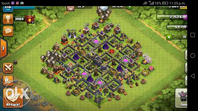 Clash of clans th9max