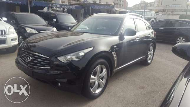 Infiniti fx 35 black color mod 2009
