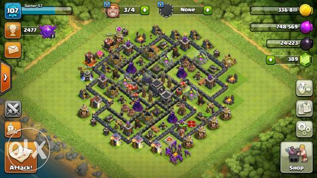 Clash of clans for sal e