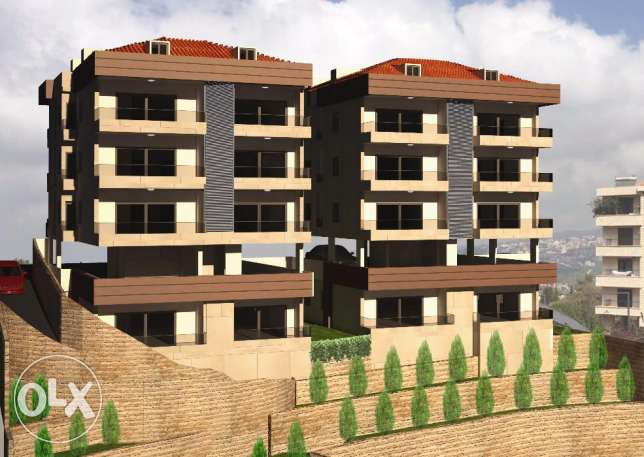 Apartments under construction for sale in Qoneitra