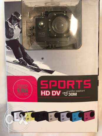 Brand New Sports Camera Hd Water Resistant 30m