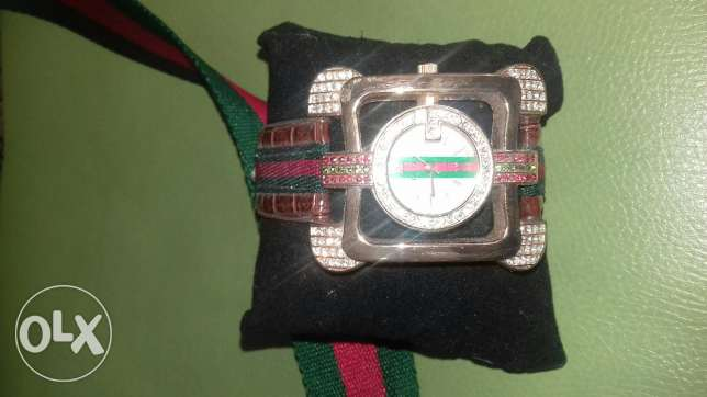 Cross sack +watch brand Gucci شويفات -  2