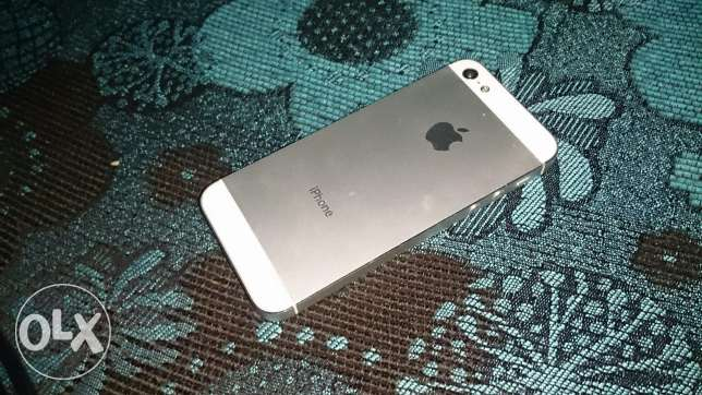 IPhone 5 silver w abyad 5are2 مار الياس -  1