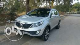 Sportage 2.4L 2013 luxury high package in a perfect condition