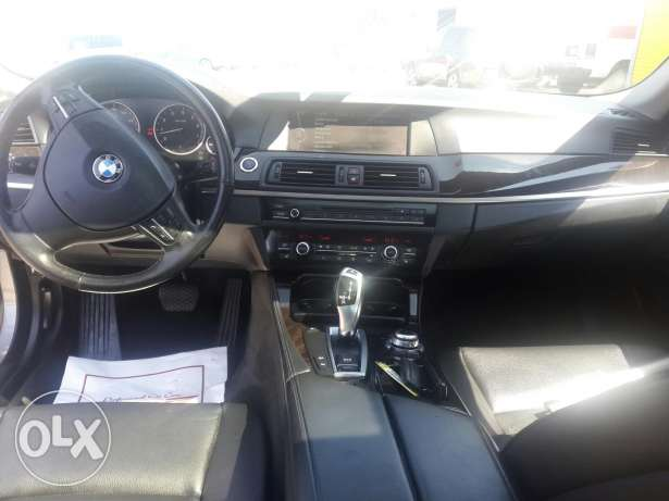 BMW 535i 2011 Ajnabiye Premium package خارقة جبيل -  5