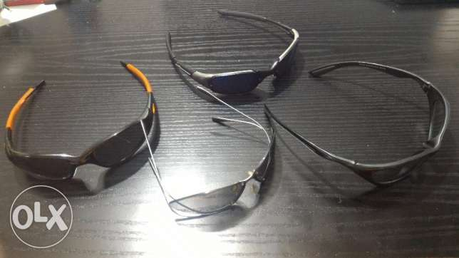 collection of 5 sunglasses