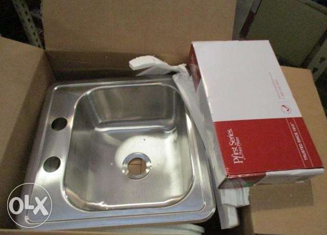 Ffister Stainless sink and faucet