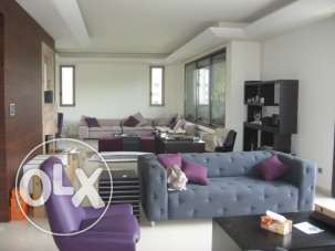 600sqm duplex for sale in Horsh Tabet, Metn- Pan. View
