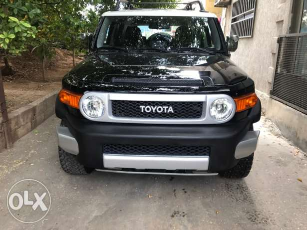 Toyota FJ Cruiser Model 2010 Black No:1