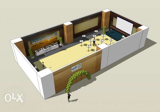 3D DESIGNER for your EVENTS and ceremonies... انطلياس -  1
