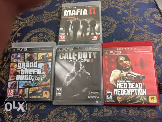 Mafia 2 ,GTA 5,Redead,Black ops