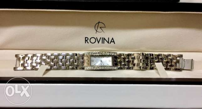 Rovina Silver Watch for women