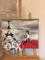 acryling painting